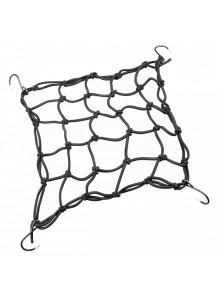 Gumicuk upínacia sieť, 25 x 25 cm, čierny
