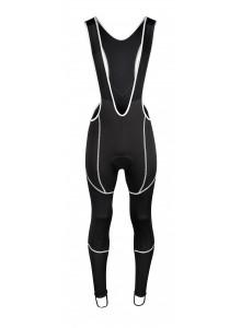 Nohavice FORCE Z70 s trakmi s vložkou, čierne L