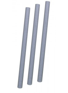 Klipy reflexné FORCE na špice 7 cm, strieborné 10 ks