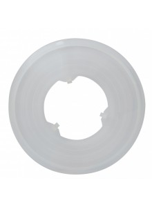 Kryt PLAST na viackolo/ kazetu 138 mm, číry