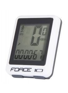 Počítač FORCE 10 funkcií, drôt, biely