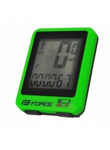 Počítač FORCE WLS 10 funkcií, bezdrôtový, zelený