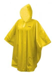 Poncho FORCE detské nepromokavé, žlté XS - M