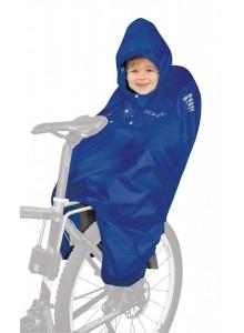 PONCHO-pláštenka FORCE na dieťa v sedačke modré