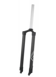"""Vidlice F MTB 26-27,5"""" AHEAD 1 1/8"""" 465mm, karbon"""