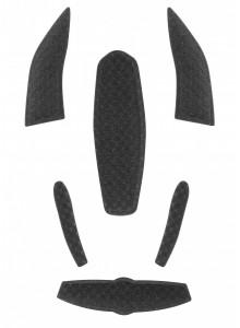 Výstelka prilby WORM, čierna