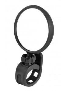 Spätné zrkadlo F otočné silikónový držiak, čierne