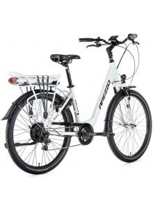 """Dámsky elektrobicykel Arezzo Grande, 2020-1 16,5"""", biela"""