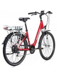 """Dámsky elektrobicykel Arezzo Grande, 2020-3 18"""", červená"""
