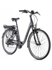"""Elektrobicykel Leader Fox PARK CITY 28"""", 2020-3 16,5"""" sivá"""