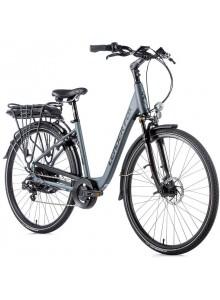 "Elektrobicykel Leader Fox INDUKTORA 28"", 2020-2 20"" sivá matná/čierna"