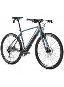 """Krosový elektrobicykel Leader Fox WACO pánsky, 2020-2 19"""" sivá matná/čierna"""