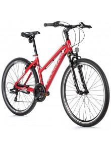 "Krosový bicykel Leader Fox AWAY dámsky, 2021-2 20"" červená"