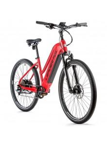 """Crossový elektrobicykel Leader Fox BARNET dámsky, 2021-2 20"""" červená/čierna"""
