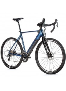 Gravel elektrobicykel Leader Fox RUNNER, 2021-2 56 cm tmavo modrá/čierna