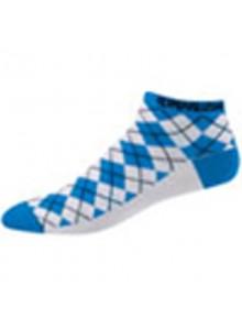 Ponožky P.I.Elite LE Low W modro/biele kosti