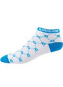 Ponožky P.I.Elite LE Low W bielo/modré logo