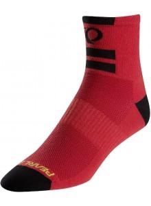 Ponožky P.I.Elite core red (black)