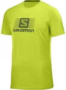 Tričko SAL.Blend logo SS M acid lime