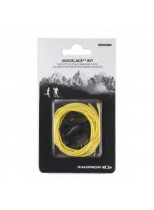 Tkaničky SAL.Quicklace kit yellow