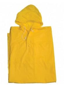 Pláštenka pončo PVC dospelá žltá