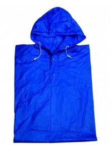 Pláštenka pončo PVC dospelá modrá