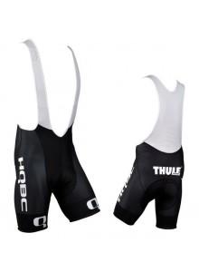 Nohavice krátke s trakmi HQBC Team čierne