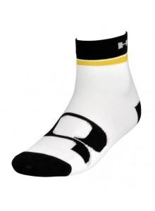 Ponožky HQBC Q CoolMax bielo/žlté