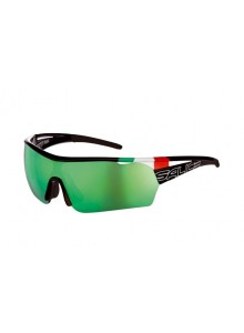 Okuliare SALICE 006ITA black/multireflex green