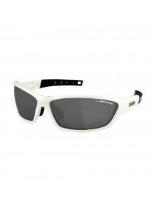 Okuliare LONGUS WIND FF bielo/čierne, sklá zrkadlové