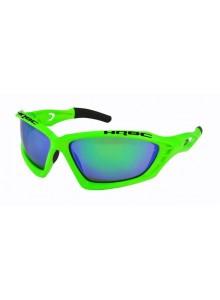 Okuliare HQBC Treedom PRO reflex zelené/zelené sklá