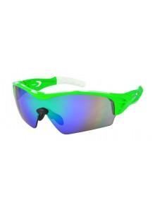 Okuliare HQBC Treedom Plus reflex.zelené/zelené sklá