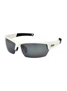 Okuliare LONGUS WIND NS bielo/čierne matné, sklá zrkadlo