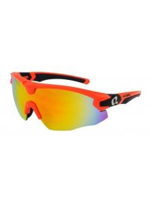 Okuliare HQBC Qert Plus reflexné oranžové