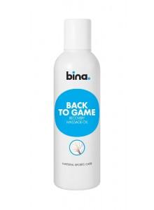 BINA Back to game regeneračný masážny olej 200ml