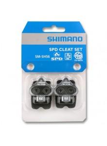 Kufre k pedálom SHIMANO SH56 s plechmi