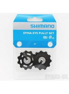 Kladka prehadzovačky SHIMANO XT 780 10s, ložiskové