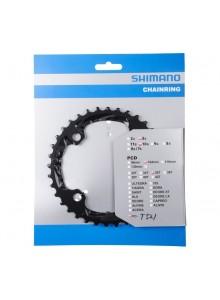 Prevodník SHIMANO FCT521(611) 36z pre kľuky 3x10s, black