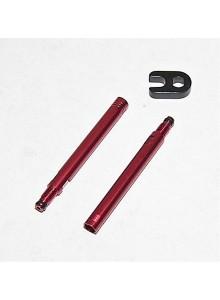 Nástavec galuskového ventilu 50mm červený