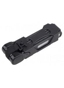 Zámok PRO-T článkový plochý 800 mm/6 článkov čierny
