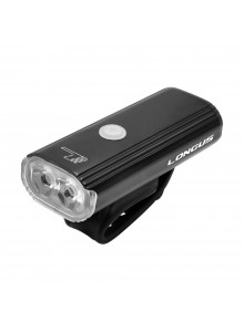 Svetlo LONGUS predné Blok 800 Lm 8-fcií, nabíjanie USB