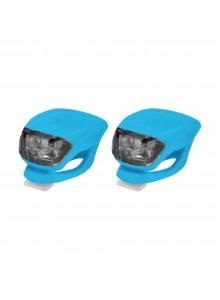 Sada blikačiek LONGUS pr.+zad.2 LED/2fcie modré+bate