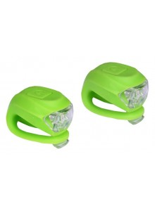 Sada blikačiek PROFIL pr.+zad.2 LED/2fcie zelené+batérie