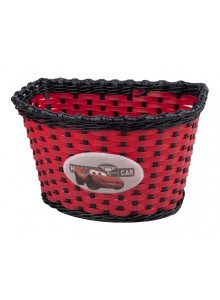 Kôš predný na detský bicykel Boy červeno/čierny