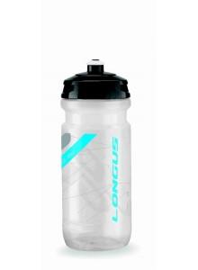 Fľaša LONGUS Tesa 600 ml číra/modrá