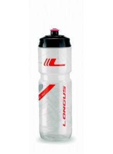 Fľaša LONGUS Tesa 800 ml číra/červená