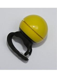 Zvonček elektrický priemer 40 mm žltý