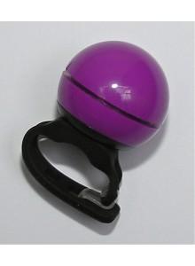Zvonček elektrický priemer 40 mm fialový