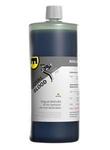 Hydraulický olej MAGURA 1000ml modrý