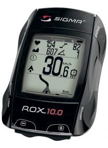 Computer SIGMA ROX 10.0 GPS set, čierna